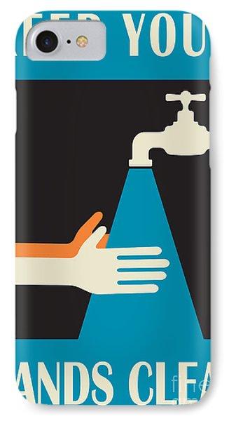 Keep Your Hands Clean IPhone Case