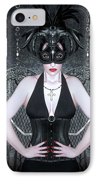 Keeper Of The Night - Self Portrait IPhone Case