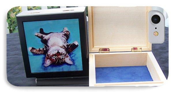 Keepsake Box IPhone Case by Pat Saunders-White