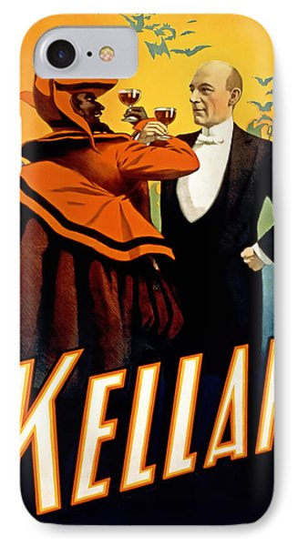 Kellar Toasts The Devil IPhone Case by Terry Reynoldson