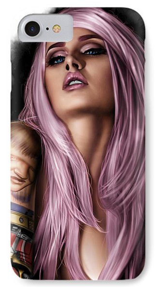 Kelly Phone Case by Pete Tapang