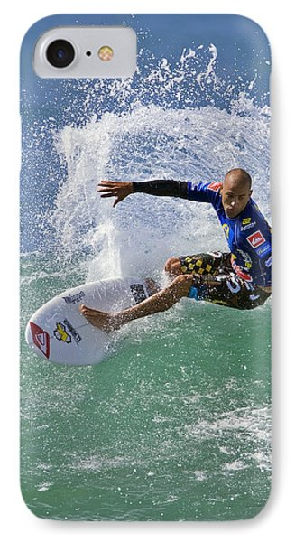Kelly Slater  Eom7785 IPhone Case by David Orias