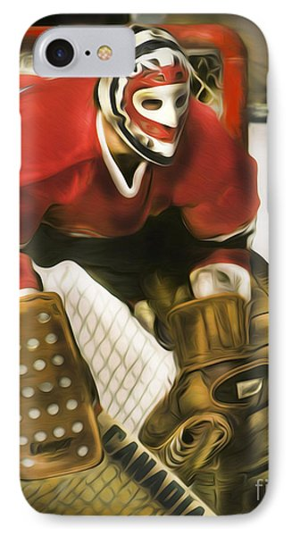 Ken Dryden Phone Case by Mike Oulton