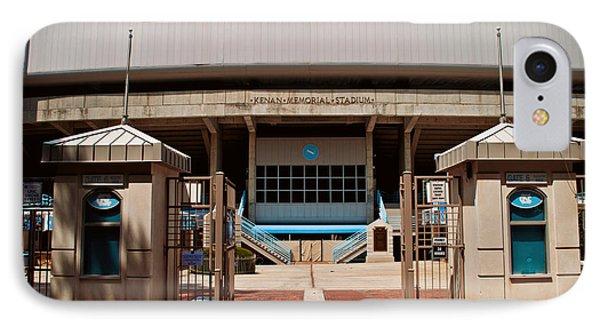 Kenan Memorial Stadium - Gate 6 Phone Case by Paulette B Wright