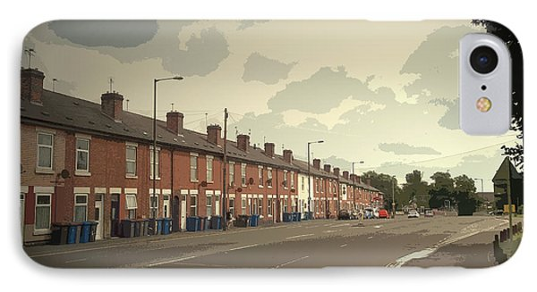 Kenilworth Avenue In Pear Tree, Dwellings On The A511 Road IPhone Case by Litz Collection