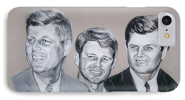 Kennedy Brothers IPhone Case by Martha Suhocke