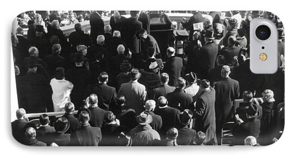 Kennedy Inauguration, 1961 IPhone Case by Granger