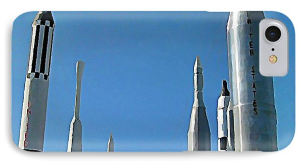 Kennedy Space Centre In Florida Phone Case by John Malone
