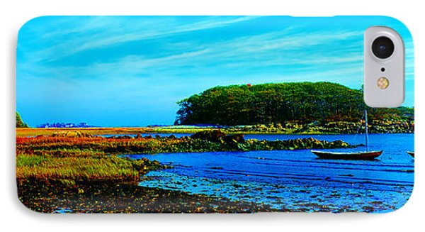 IPhone Case featuring the photograph Kennepunkport Vaughn Island  by Tom Jelen