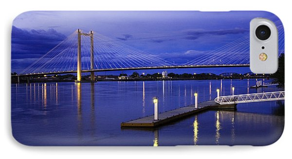 IPhone Case featuring the photograph Kennewick Bridge 2 by Sonya Lang