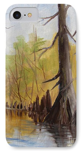 IPhone Case featuring the painting Ken's Bayou by Barbara Haviland