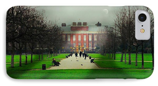 Kensington Palace London IPhone Case by Diana Angstadt