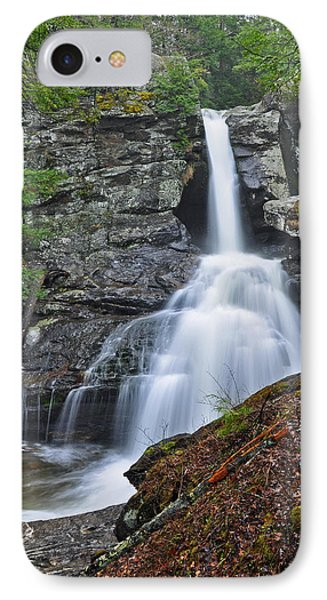 Kent Falls State Park Ct Waterfall IPhone Case