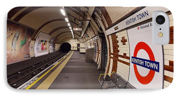 Kentish Town Tube Station IPhone Case by Nicky Jameson