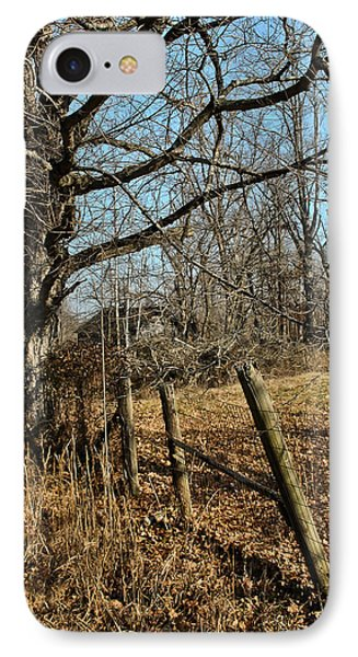 IPhone Case featuring the photograph Kentucky Fence Row by Greg Jackson
