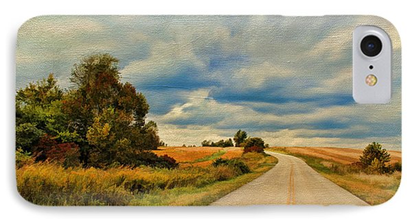 Kentucky Highways IPhone Case by Darren Fisher