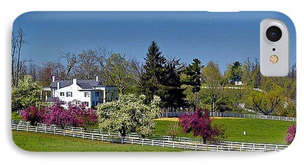 Kentucky Horse Farm IPhone Case