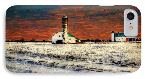 Kentucky Sunrise IPhone Case by Darren Fisher