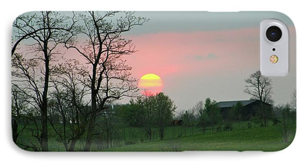 Kentucky Sunset Phone Case by Donald Lively
