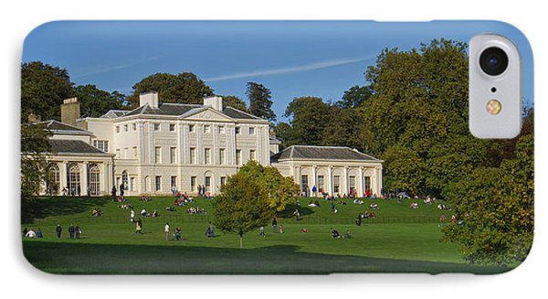 Kenwood House Hamstead Heathouse IPhone Case by Carol Ailles