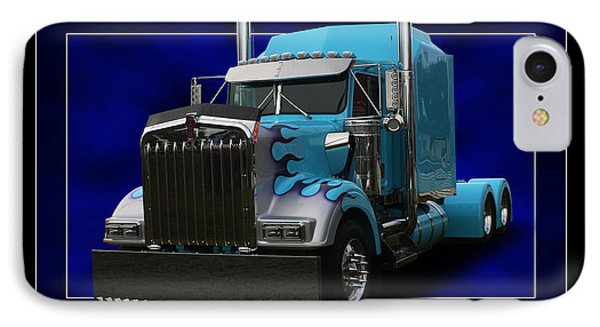 Kenworth Customised IPhone Case by Keith Hawley