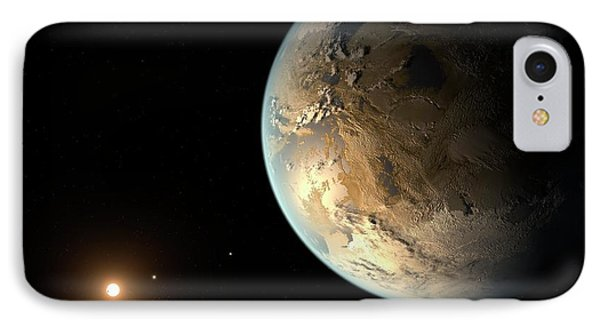 Kepler-186f IPhone Case by Nasa/ames/seti Institute/jpl-caltech