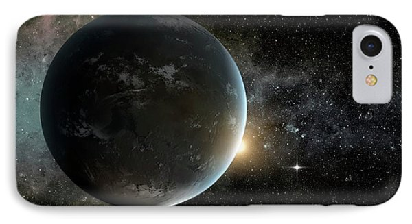 Kepler-62f IPhone Case by Nasa/ames/jpl-caltech