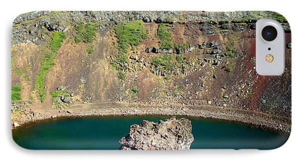 Kerio Crater Lake IPhone Case by Kay Gilley