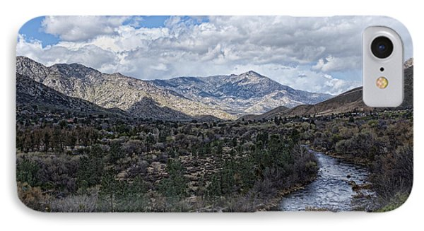 IPhone Case featuring the photograph Kern River At Ewing Falls by Hugh Smith