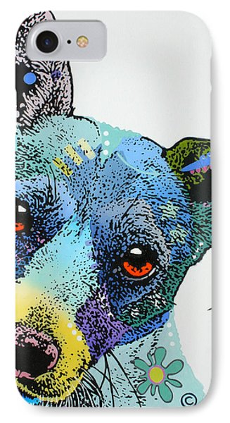 IPhone Case featuring the painting Jack by Luis Ludzska
