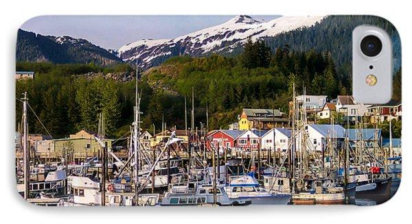 Ketchikan Alaska Dock Phone Case by Michael J Bauer