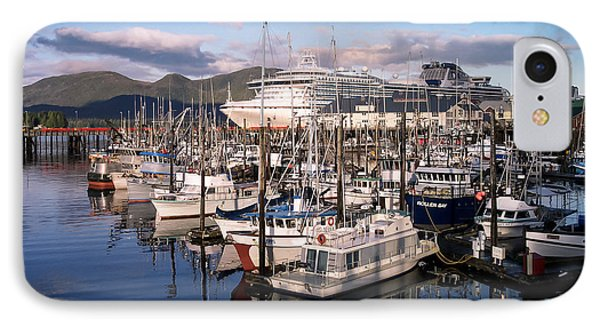 Ketchikan Alaska Evening IPhone Case by Michael J Bauer