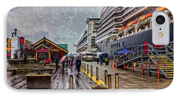 IPhone Case featuring the photograph Ketchikan Alaska's Visitor Center by Timothy Latta