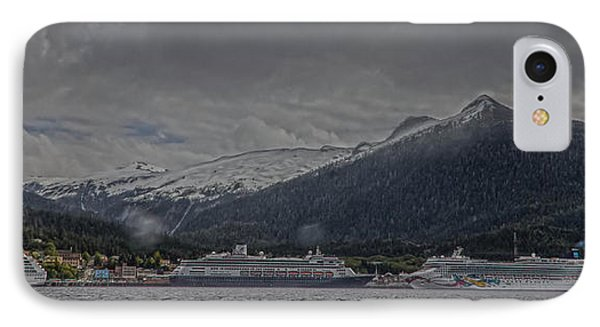 Ketchikan Alaska's Waterfront IPhone Case by Timothy Latta