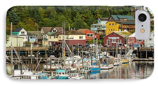 Ketchikan Harbor IPhone Case by Steven Bateson