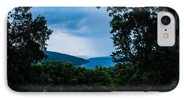 Keuka Lake From Esperanza Phone Case by Steve Clough