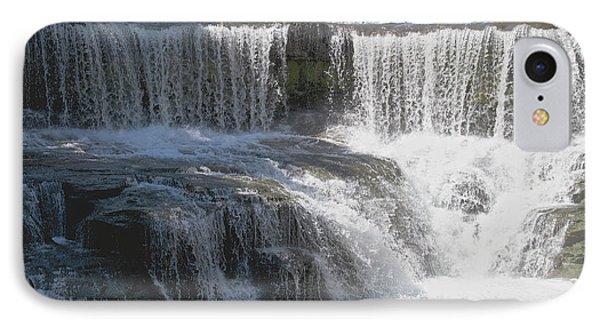 Keuka Seneca Waterfall Phone Case by William Norton