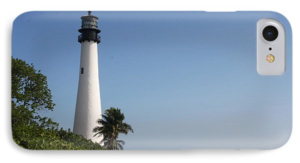 Key Biscayne Lighthouse IPhone Case by Christiane Schulze Art And Photography