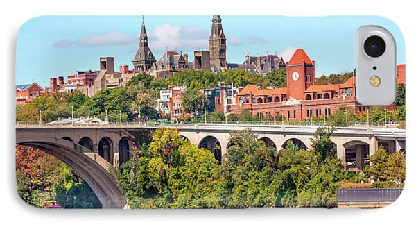 Key Bridge, Potomac River, Georgetown IPhone 7 Case