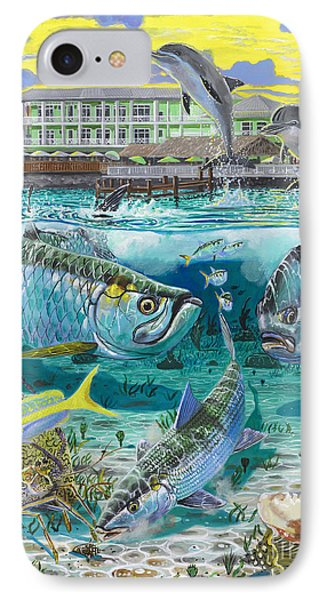 Key Largo Grand Slam IPhone Case by Carey Chen
