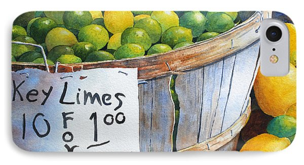 Key Limes Ten For A Dollar IPhone Case