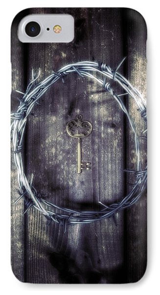 Key Of A Treasure Chest Phone Case by Joana Kruse