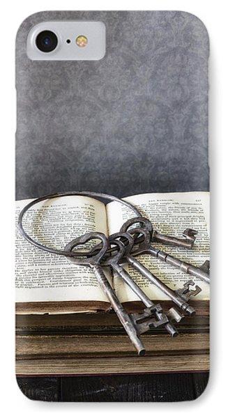 Key Ring Phone Case by Joana Kruse