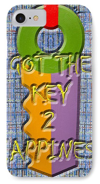 Key To Happiness Phone Case by Patrick J Murphy