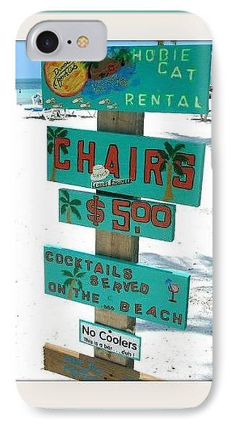 Key West Beach Phone Case by Bruce Kessler