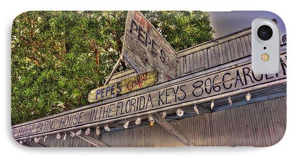 Key West Eatin IPhone Case by Joetta West