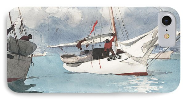 Key West Fishing Boats IPhone Case by Mountain Dreams