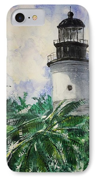 Key West Light Phone Case by Stephanie Sodel
