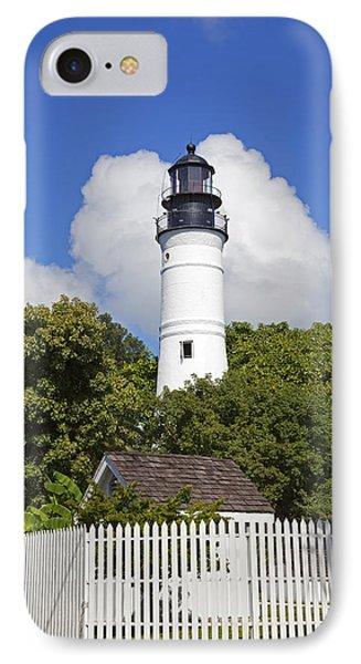 Key West Lighthouse Phone Case by John Stephens