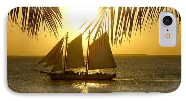 Key West Sunset IPhone Case by Joan  Minchak
